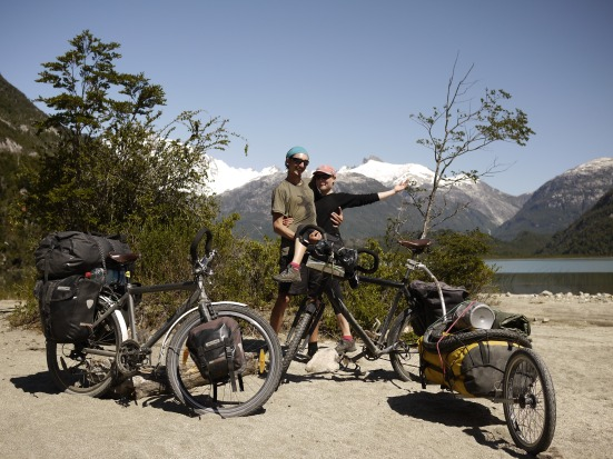 We joined forces with Jas and Therese (from France and Sweden), who have ridden from Lima, Peru.