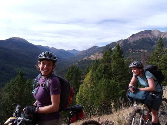 Smiles in abundance with smooth singletrack and autumn colours