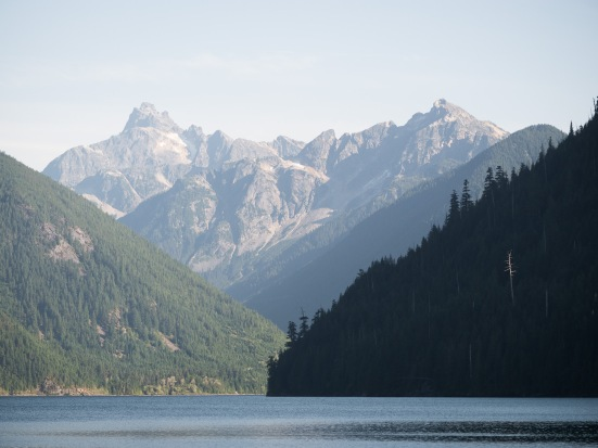 Chilliwack Lake is a scenic place...