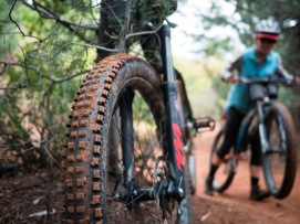 a reckless sort of riding, well suited to Sedona.